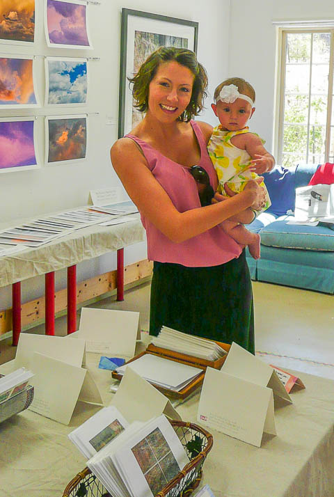 Oracle Artist Studio Tour, my youngest collector
