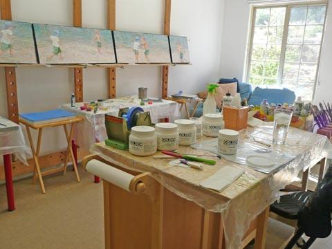 Messy studio 3
