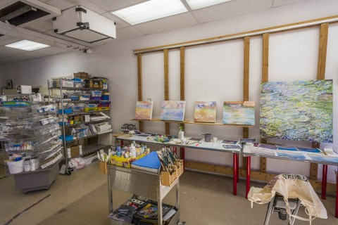 A Trip to the Golden Goose Thrift Shop Results in Studio Reorganization