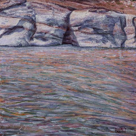 Acrylic painting on panel 16x16