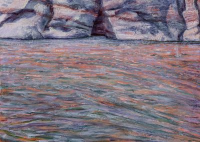 Cliff Edge painting