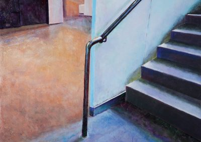 Stairway to an Indeterminate Destination painting