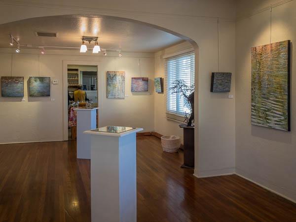 Before the opening, Casa Grande Art Museum