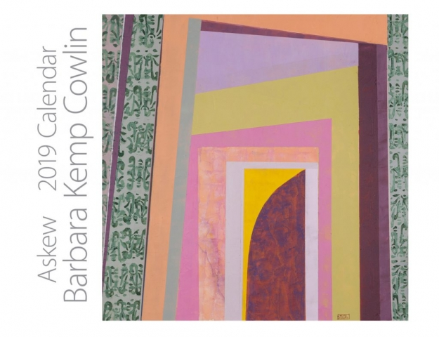 Barbara Kemp Cowlin 2019 Calendar Cover-Askew #41