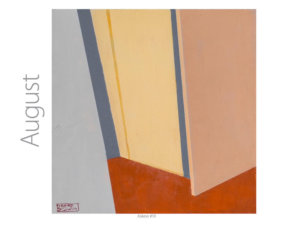 Barbara Kemp Cowlin 2019 Calendar-Askew #19
