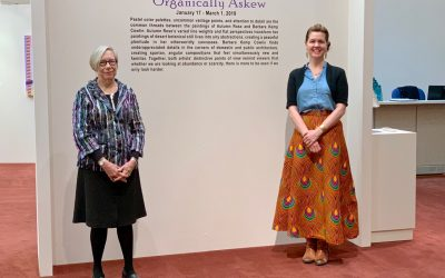 """Organically Askew"" at Chandler Center for the Arts: A Photographic Recap"