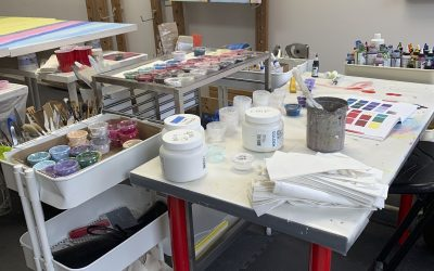 Total Studio Reorganization Brought On by Some Very Good News!