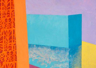 Askew #80, Acrylic on panel, 24x24, 2020